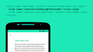 android color android statusbar icons color stack overflow