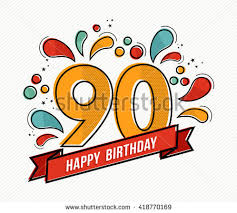 happy birthday number 101 greeting card stock illustration