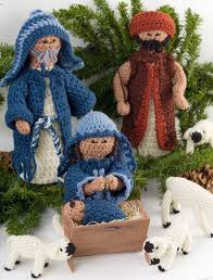 crocheted christmas crocheted nativity favecrafts