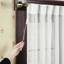 pictures of curtains sheer door panel curtains french curtain panels voile rod pocket