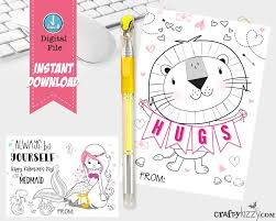 valentines bookmarks for kids printable valentine u0027s gifts for