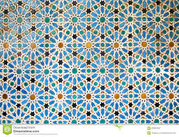 Moorish Design Old Moorish Mosaic In Seville Spain Stock Photo Image 63964352