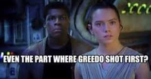 Han Shot First Meme - star wars memes new funny star wars the last jedi memes for fans