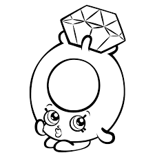 Shopkins Season 3 Coloring Pages Getcoloringpages Com Bread Coloring Page