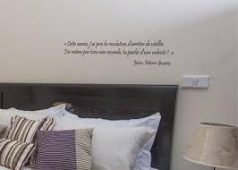 stickers ecriture chambre stickers muraux citation de gourio sur les résolutions par décorécébo