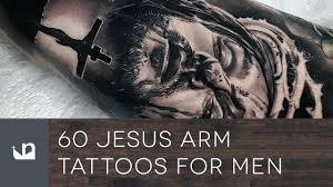 60 jesus arm tattoos for men youtube