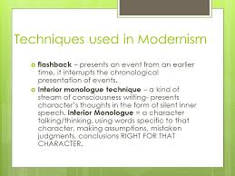 Examples Of Interior Monologue Modernism In Literature What Is It When And Why Did It Happen