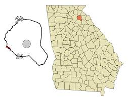 Buford Ga Zip Code Map by Gillsville Georgia Wikipedia