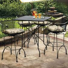 Wrought Iron Patio Dining Sets - iron patio furniture home design by fuller