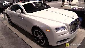 2016 rolls royce wraith exterior and interior walkaround 2016