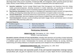 amazing resume for supply chain executive images simple resume