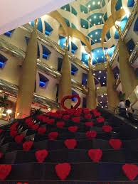 inside burj al arab how to have a 7 stars valentines fairytale dinner at burj al arab