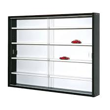 Display Cabinet Canberra Collecty Black And White Display Cabinet With 2 Glass