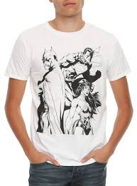 spirit halloween batman shirt dc comics batman superman wonder woman trinity line art t shirt