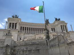 Ancient Roman Empire Flag Free Images Building Palace City Monument Panorama Travel
