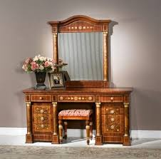 Vanity Table And Bench Set Top 3 Luxury Make Up Vanity Table Sets With Mirror And Bench