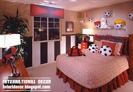 Interior Decor Idea Cool Sports Kids Bedroom Themes Ideas And Designs - Cool kids bedroom theme ideas