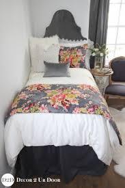 Dorm Bedding For Girls by Red Dorm Room Bedding