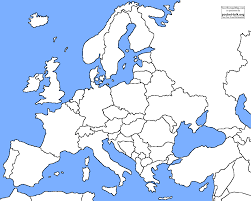 printable map of asia with countries and capitals within europe