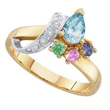 2 mothers ring l 2 to 7 simulated stones s ring