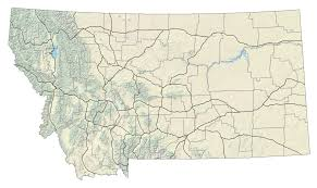 Montana Map Cities by Montana Deq Pm 2 5 Air Monitoring