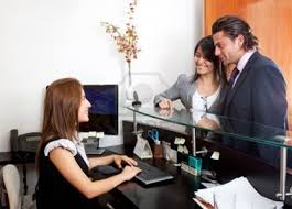 dental front desk jobs thursday troubleshooter who gets priority at the front desk of the