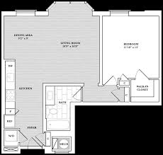 Floor 13 by Floor Plans Cathedral Commons Apartments The Bozzuto Group