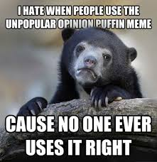 Puffin Meme - livememe com confession bear