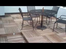 wood deck tiles on rooftop decks patios u0026 terraces video 2 of 7