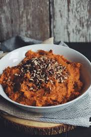 easy vegan sweet potato mash for food