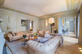 home interior brand gerard faivre muted chutzpah in grey biscuit and gold