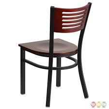 Slat Back Dining Chairs High Back Metal Dining Chairs Htcc Us