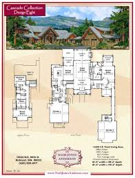nash jones anderson lodge style home plans design pinterest
