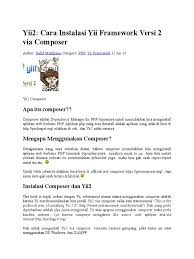download user guide yii2 docshare tips