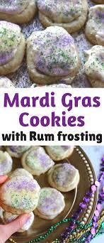 mardi gras cookies mardi gras cookies with rum frosting casey la vie