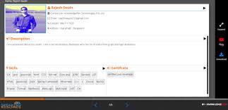 Interactive Resumes Speaking Resume
