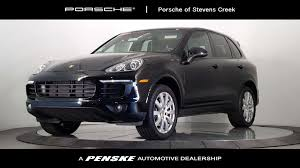 porsche suv 2017 certified pre owned 2017 porsche cayenne platinum edition awd suv at