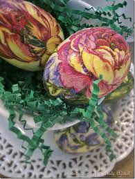 Easter Eggs Decorated With Paper Napkins by Fun Easy And Inexpensive Decoupage Easter Eggs Hometalk