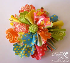 Make Your Own Paper Flowers - best 25 fabric flowers ideas on pinterest easy fabric flowers