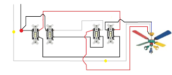 stage four ceiling fan switch wiring diagram ceiling fan lighting