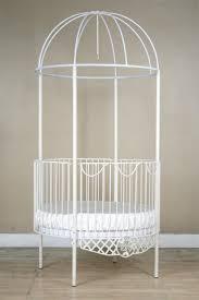 bedroom round cribs rod iron crib bratt decor
