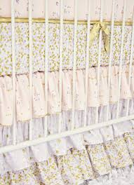 lilac and gold sparkle baby bedding caden lane