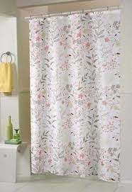 Flower Drop Shower Curtain Luxury Fabric Shower Curtain Foter