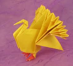 origami turkey by jun maekawa folded by gilad aharoni origami