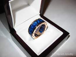 blue men rings images Photo gallery of blue sapphire men 39 s wedding bands viewing 15 of jpg