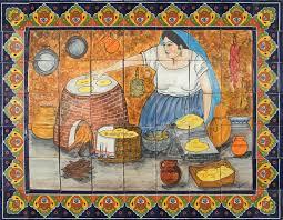 ceramic tile murals for kitchen backsplash 84 best kitchen backsplash images on kitchen