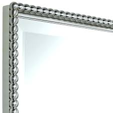 Bathroom Mirrors Brushed Nickel Brushed Nickel Mirror Bathroom Wall Mirrors A Brushed Nickel Frame