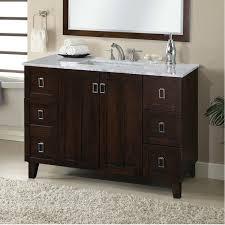48 single sink bathroom vanity modern zipcode design lehigh 48 single sink bathroom vanity set on