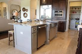 kitchen islands with posts kitchen island burrows cabinets central builder direct
