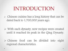 cuisine characteristics food culture